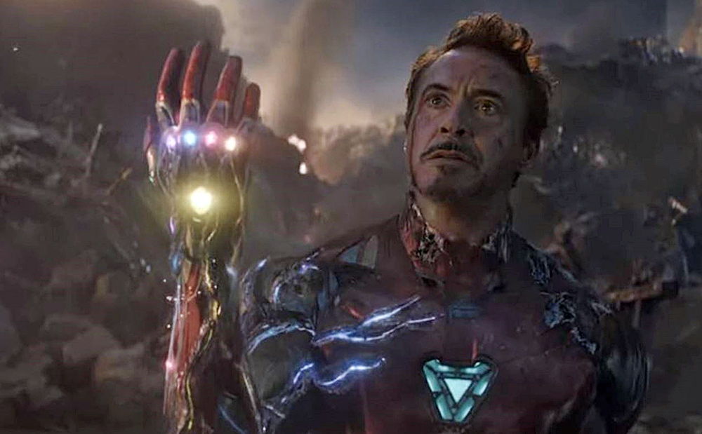 Iron Man Snaps in Avengers EndGame
