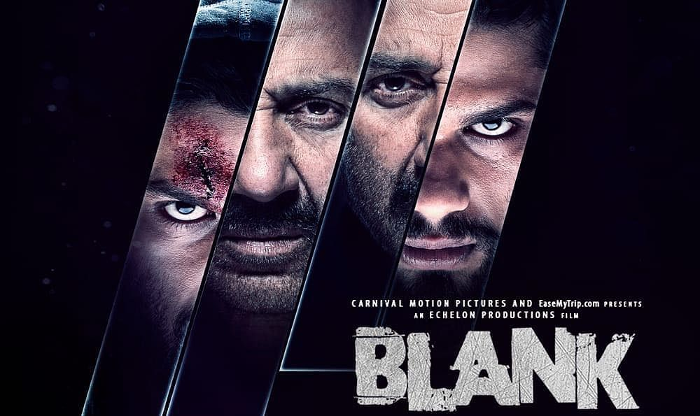 Blank Movie Poster